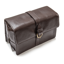 CAPT FAWCETT'S Leather washbag