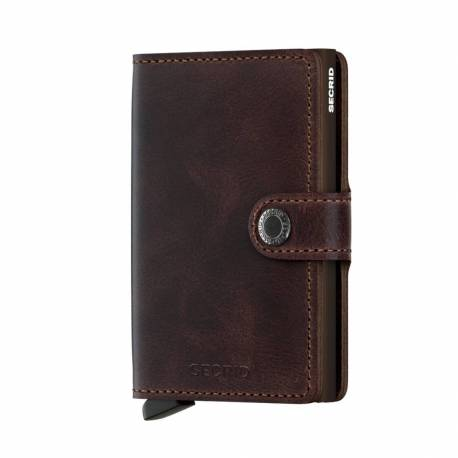 SECRID Miniwallet brown chocolate