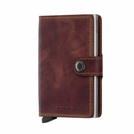 Secrid® Miniwallet brown vintage