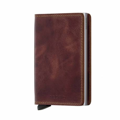Secrid® Slimwallet brown vintage