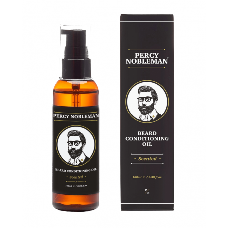 PERCY NOBLEMAN - Huile à Barbe Scented parfumée100ml