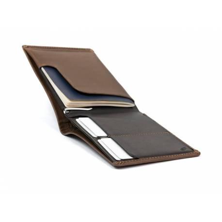 BELLROY Porte passeport en cuir - Cocoa