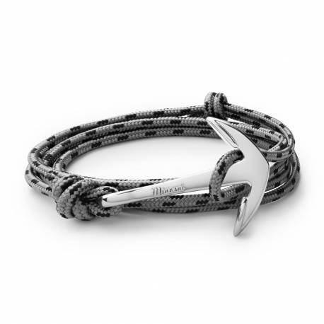 MIANSAI Silver plated Anchor on concrete rope