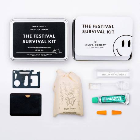 MEN SOCIETY Kit de survie du festivalier