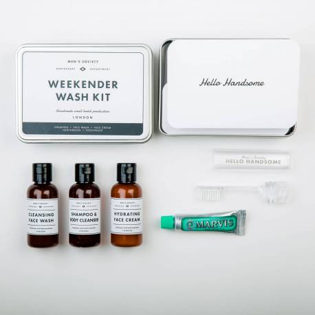 MEN'S SOCIETY Weekend Wash Kit