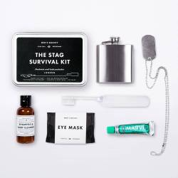 MEN'S SOCIETY Kit de survie Bachelor party