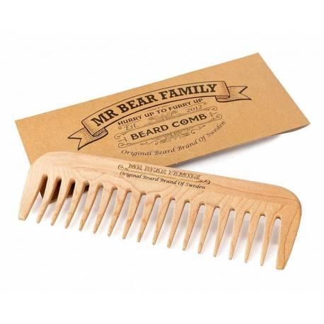 Mr Bear® Peigne à barbe en bois