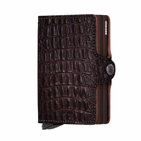 SECRID Twinwallet Nile Brown