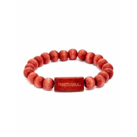 Northskull® - Mauve Maple Wood Bracelet 52B1009