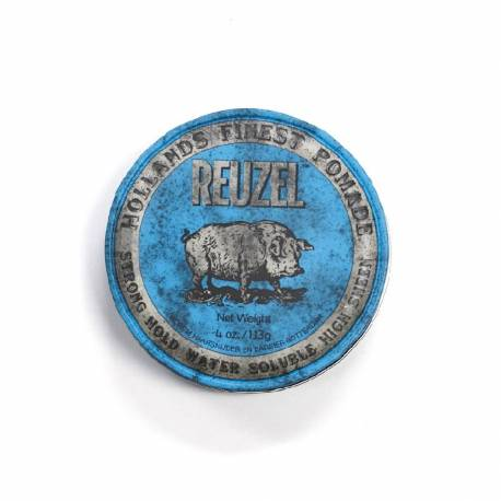 Reuzel® - Haarpomade Blue Strong hold High sheen 113gr