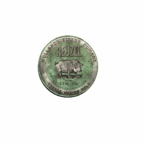 Reuzel® - Pommade coiffante Green Tenue moyenne 35gr