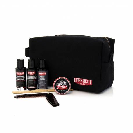 UPPERCUT DELUXE Trousse de toilette garnie Black