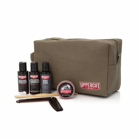 UPPERCUT DELUXE Trousse de toilette garnie Green Army