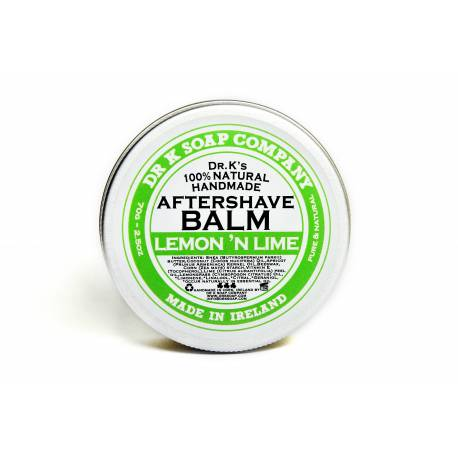 DR. K Aftershave Balm Lemon Lime 70gr