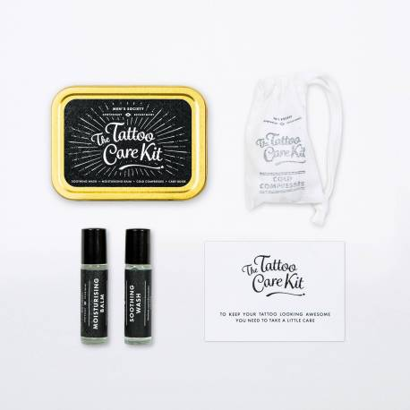 MEN'S SOCIETY The Tattoo Care Kit