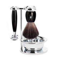 MÜHLE - Vivo Coffret cadeau set de rasage complet Noir