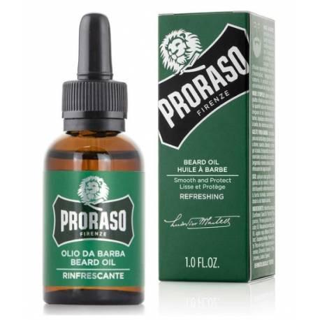 PRORASO Beard Oil Refreshing  30ml