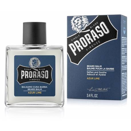 PRORASO Beard Balm Azur Lime  100ml