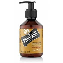PRORASO Shampooing à barbe Wood & Spice 200ml