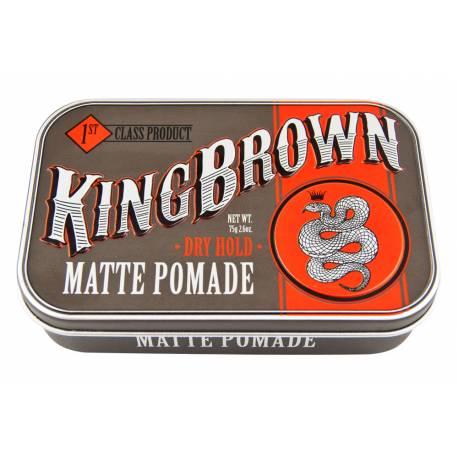 KING BROWN MATTE POMADE 75G
