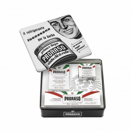 PRORASO Vintage Selection Whit Sensitive - Rasierset