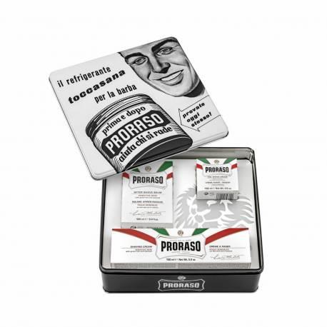 PRORASO Vintage Selection Whiste Sensitive - Set de rasage