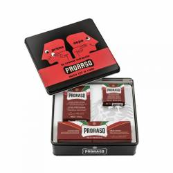 PRORASO Vintage Selection Red Nourish- Set de rasage