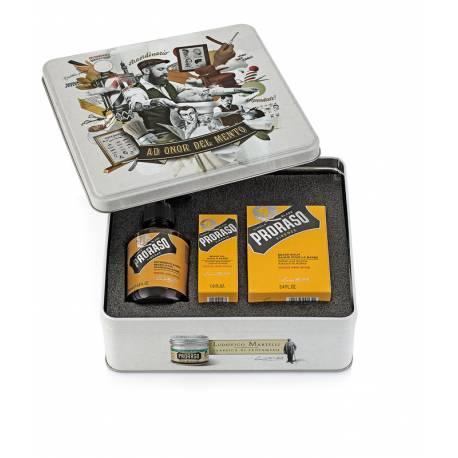 PRORASO Beard Kit - Wood & Spice - Bartpflegeset