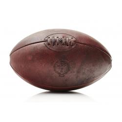 RETRO HERITAGE  Ball de rugby en cuir véritable