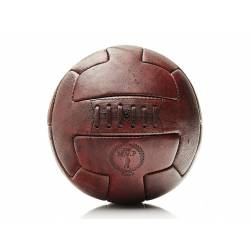 RETRO HERITAGE BROWN LEATHER RUGBY BALL