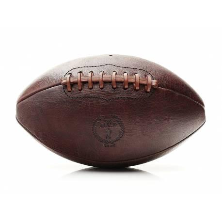 RETRO HERITAGE  Ballon de football américain en cuir véritable