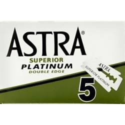 ASTRA Platinum Green Lames de rasoir (5pces)