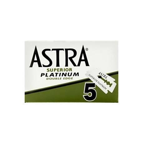 ASTRA Platinum Green Razor blades set (5Stk.)