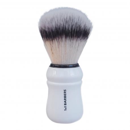 1o1BARBERS Brosse de rasage professionnelle en poils authentiques