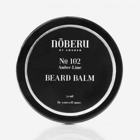 NOBERU Baume à Barbe Amber-lime 60ml