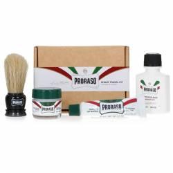 PRORASO kit de rasage voyage