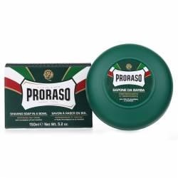 PRORASO Shaving Soap Green Refresh Bowl 150ml