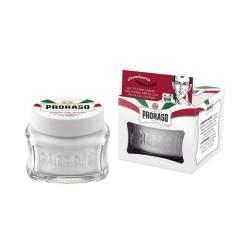 PRORASO Crème prérasage White Sensitive 100ml