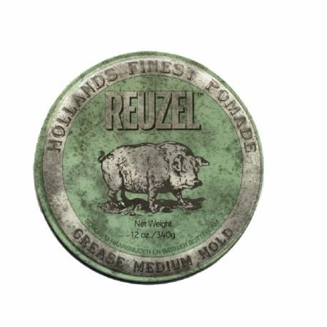 REUZEL - Cire coiffante Green Tenue moyenne 340gr