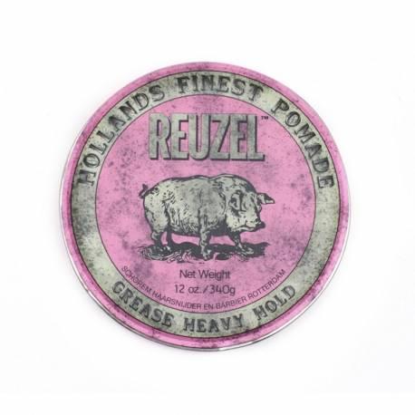 REUZEL - Cire coiffante Pink Tenue forte MAXI 340gr