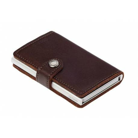 Secrid® Miniwallet brown dark