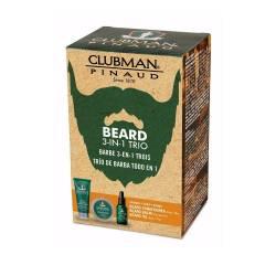 CLUBMAN PINAUD Soin de la barbe TRIO