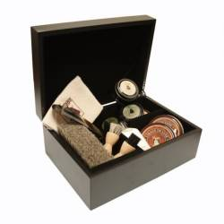 FAMACO Coffret de cirage Monet noir