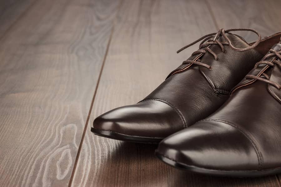 L'entretien d'une chaussure