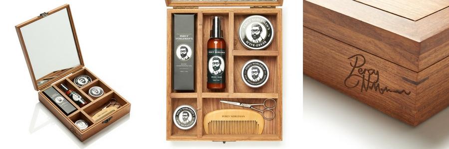 Coffret soins de barbe Premium