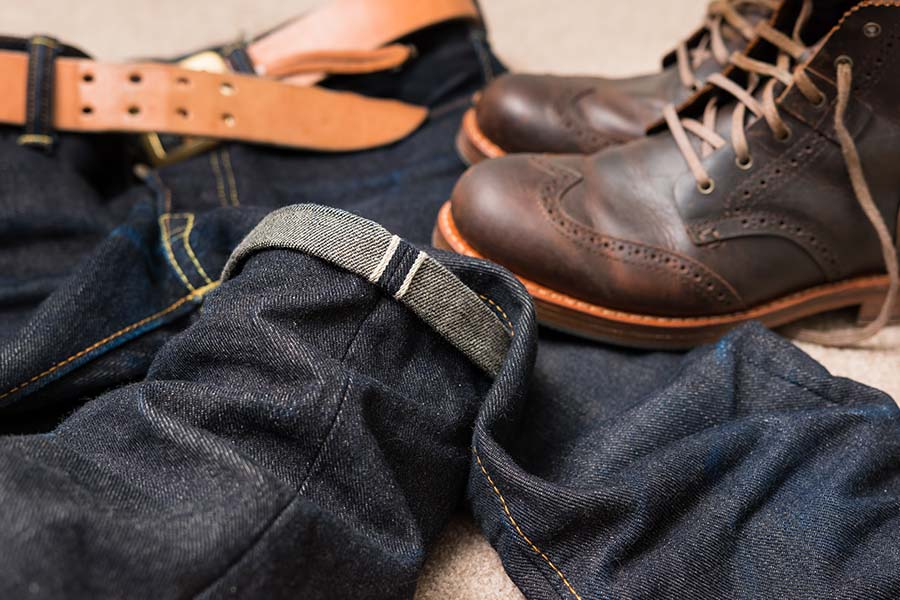 Le tissage selvedge: le plus résistant
