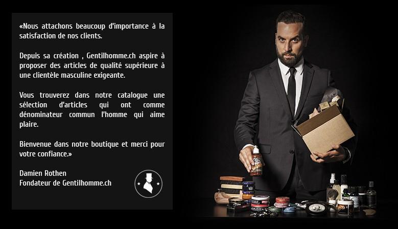 Bienvenue sur Gentilhomme.ch